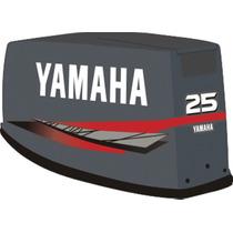 Adesivo Motor De Popa Yamaha 25 Hp