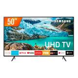 Smart Tv Led 50'' 4k Samsung Ru7100 3 Hdmi 2 Usb Wifi Itunes