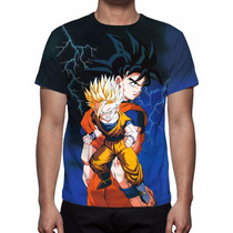 Camisa, Camiseta Anime Dragon Ball Z Mod 03 - Estampa Total