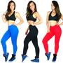 Calça Legging Suplex Power Fitness Academia Ginástica