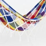 Rede De Dormir Casal Fustão - Compre 3 Ganhe Frete Grátis