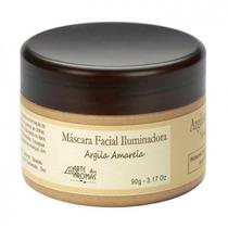 Argila Amarela-mascara Hidratante Facial Rosto-péle