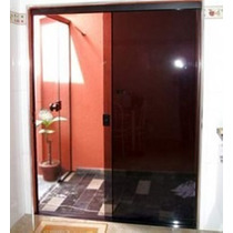 Porta De Correr Em Vidro Temperado A Partir De R$ 259,99 M²