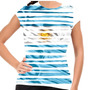 Camiseta Argentina Stripes Baby Look