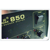 Gordak 850 Estação De Solda Rework Regulavel Profissional