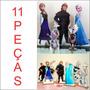 11 Display Frozen Totem Painel Cenário (05 Chão + 06 Mesa)
