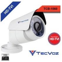 Câmera Tecvoz Hd-tvi Infra 30mt 1.0 Megapixels 720p /6mm