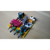Kit Placa Montada Amplificador Estéreo Bluetooth 100 Watts