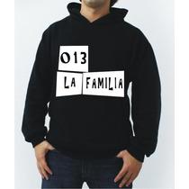 Blusa La Familia 013 Charlie Brown Jr Canguru - Promoção!