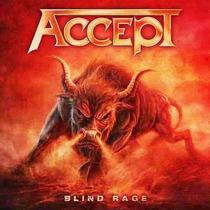 Accept - Blind Rage - Cd + Dvd - Lacrado!!!