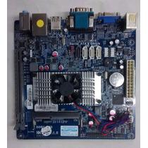 Placa Mãe Processador, Megaware Mw-nm70hd-mi Celeron 847