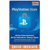 Cartão Playstation Store Brasil 250 Reais Psn Br Brasileira