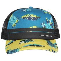 Boné Trucker Billabong Original Ajustavel Snapback Hat