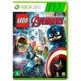 Jogo Lego Marvel Vingadores Avengers Xbox 360 Pt-br Original