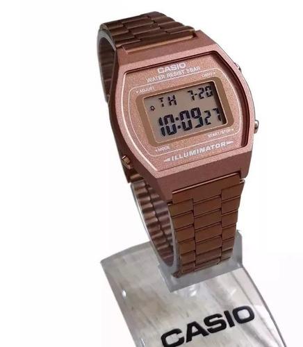 0796651823b Relógio Casio Unissex B640 Rose Retrô C  Caixa Original