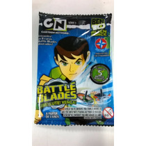 Novo Lacrado Ben 10 Alien Force 5 Battle Blades Da Estrela