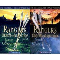 Rangers Ordem Dos Arqueiros - Volumes 1 E 2 - 11 A 17 Anos