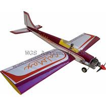 Aeromodelo Calmax Asa Baixa Em Balsa - Kit Para Montar .