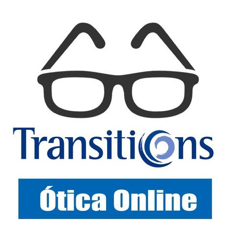 Óculos De Grau Com Lentes Transitions Monofocal Ótica Online - R ... 151e0e31f2