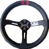 Novo Volante Fueltech Shutt Fts - 1 - Couro
