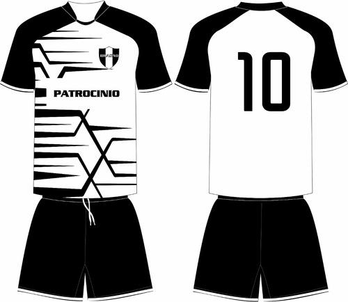 44128f476a Jogo 15 Camisas 15 Calções Personalizado Futebol Dry Sport
