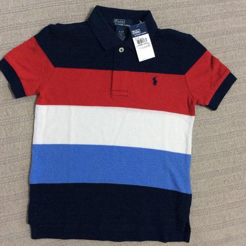 55a368efbf52e Polo Ralph Lauren Infantil Camisa Polo Listrada- 8 Modelos!!