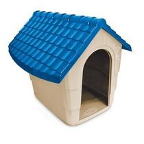 Casa Casinha Para Cães N2 60x51x50 Plast Pet Cores Variadas