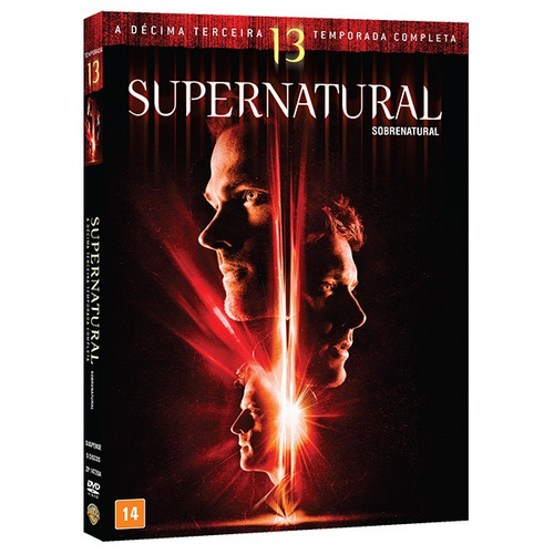 Dvd Box - Supernatural 13ª Temporada