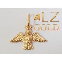 38aa256a15cfe Pingente Pomba Divino Espirito Santo Pombinha Ouro 18k à venda em ...