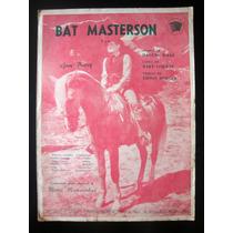 Partitura Antiga Música Bat Masterson Acordeon