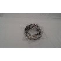 Tiara 5mm De Metal Lisa Pacote C/150 Cor Prata Para Enfeitar