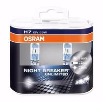Par De Lâmpadas H7 12v 60/55w Night Break Osram 64210nbu