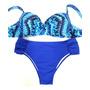 Biquini Cintura Alta C/ Tiras + Bojo Plus Size 50 E 54 25537 Original