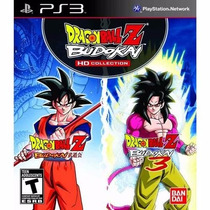 Jogo Dragon Ball Z Budokai Hd Collection Para Playstation 3