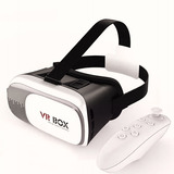 Kit Óculos Vr 2.0 Realidade Virtual Bluetooth +controle