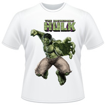 Camiseta Infantil Hulk Avengers Marvel Vingadores Camisa