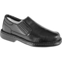 Sapato Masculino Social Casual Antistress Couro Ref. 2009