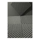 Kit 20 Placas 5 M² 20mm Espuma Acustica Anti Chamas