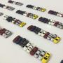 10 Carrinhos, Esc. 1:200, Miniatura Em Escala P/ Maquete