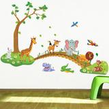 Floresta Encantada Animais 3d Infantil Adesivo Promoçao!!