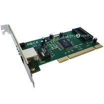 Placa De Rede Pci Gigabit 10/100/1000mbps Pacific Network
