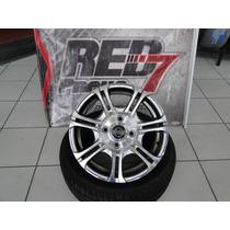 Jogo De Roda 15 Nissan Chery Qq 4x114