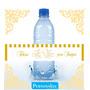 50 Rotulos Garrafinha Agua Mineral Linha Casamento 2015