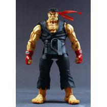 Boneco Street Fighter Ryu 18 Cm Action Figure Neca Black