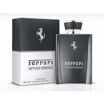 Perfume Ferrari Vetiver Essence Masc 100ml Edp Importado