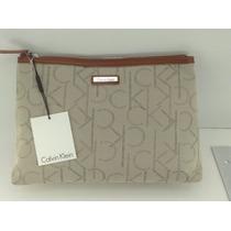 Exclusiva Bolsa Necessaire Calvin Klein 100% Original Usa