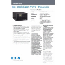 No-break Eaton Powerware 9140 Profissional