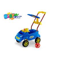 Carrinho Passeio P/ Bebê Baby Car Azul Homeplay