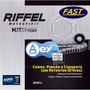 Kit Relação Riffel+ Kmc C/ret Er-6n, Ninja 650, Versys 650