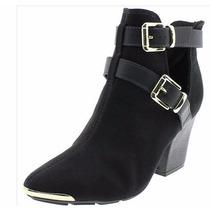 Bota Feminina Ankle Boot Preta Beira Rio